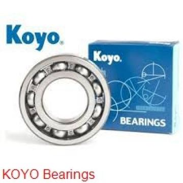 KOYO WMLFN5010 ZZ deep groove ball bearings
